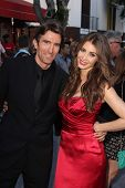 Sharlto Copley and Tanit Phoenix at the