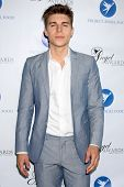 Nolan Funk at the Project Angel Food Angel Awards, Project Angel Food, Los Angeles, CA 08-10-13