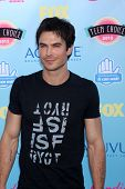 Ian Somerhalder at the 2013 Teen Choice Awards Arrivals, Gibson Amphitheatre, Universal City, CA 08-