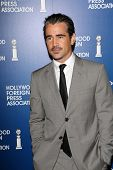 Colin Farrell at the Hollywood Foreign Press Association's 2013 Installation Luncheon, Beverly Hilto