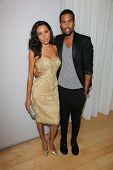 Jurnee Smollett and Josiah Bell at the 12th Annual InStyle Summer Soiree, Mondrian, West Hollywood,