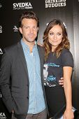 Jason Sudeikis and Olivia Wilde at the
