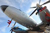 Retro Propeller Airplane