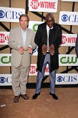 Beau Bridges, J.B. Smoove at the CBS, Showtime, CW 2013 TCA Summer Stars Party, Beverly Hilton Hotel