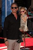 Ian Ziering with daugther at the World Premiere Of Disney's Planes, El Capitan, Hollywood, CA 08-05-13