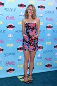 Bridgit Mendler at the 2013 Teen Choice Awards Arrivals, Gibson Amphitheatre, Universal City, CA 08-