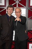 Andy Dick and son at the Comedy Central Roast Of James Franco, Culver Studios, Culver City, CA 08-25