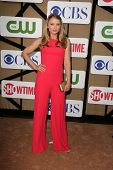 Elisabeth Harnois at the CBS, Showtime, CW 2013 TCA Summer Stars Party, Beverly Hilton Hotel, Beverl