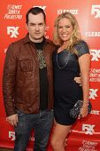 Jim Jefferies and Kate Luyben at the FXX Network Launch Party and
