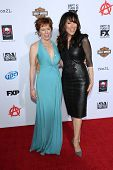 McNally Sagal and Katey Sagal at the