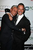 Greg Louganis and Johnny Chaillot at the