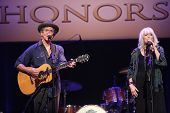 Rodney Crowell and Emmylou Harris at the 7th Annual ACM Honors, Ryman Auditorium, Nashville, TN 09-10-13