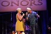 Lorrie Morgan and son Jesse Keith Whitley at the 7th Annual ACM Honors, Ryman Auditorium, Nashville, TN 09-10-13