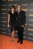 Lisa Rinna and Harry Hamlin at the 2013 Entertainment Weekly Pre-Emmy Party, Fig& Olive, Los Angeles