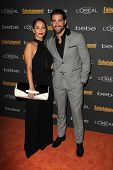 Cara Santana and Jesse Metcalfe at the 2013 Entertainment Weekly Pre-Emmy Party, Fig& Olive, Los Ang