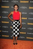 Kat Graham at the 2013 Entertainment Weekly Pre-Emmy Party, Fig& Olive, Los Angeles, CA 09-20-13