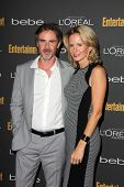 Sam Trammell and Missy Yager at the 2013 Entertainment Weekly Pre-Emmy Party, Fig& Olive, Los Angele