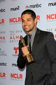 Wilmer Valderrama at the 2013 NCLR ALMA Awards Press Room, Pasadena Civic Auditorium, Pasadena, CA 0