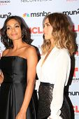 Rosario Dawson and Jessica Alba at the 2013 NCLR ALMA Awards Press Room, Pasadena Civic Auditorium,