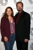 Andrew Marlowe and wife at the An Evening with