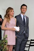Chloe Grace Moretz, Joseph Gordon-Levitt at Julianne Moore's Star on the Hollywood Walk of Fame Cere