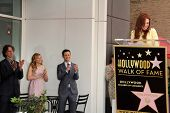 Jay Roach, Chloe Grace Moretz, Joseph Gordon-Levitt and Julianne Moore at Julianne Moore's Star on the Hollywood Walk of Fame Ceremony, Hollywood Walk of Fame, Hollywood, CA 10-03-13