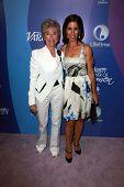 Rita Moreno and Ana Ortiz at Variety's 5th Annual Power of Women, Beverly Wilshire, Beverly Hills, CA 10-04-13