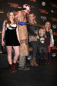 Natalie Alyn Lind, Barbara Alyn Woods, Alyvia Lind and Emily Alyn Lind  at the 8th Annual LA Haunted