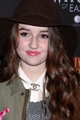 Kaitlyn Dever at the 8th Annual LA Haunted Hayride Premiere Night, Griffith Park, Los Angeles, CA 10-10-13