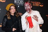Sarah Hyland at the 8th Annual LA Haunted Hayride Premiere Night, Griffith Park, Los Angeles, CA 10-