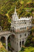 Colombia, Sanctuary Of The Virgin Of Las Lajas