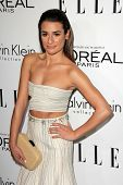 Lea Michele at the Elle 20th Annual