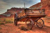 alte Mormone Wagon Capitol reef utah
