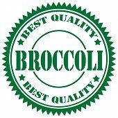 Broccoli-stamp