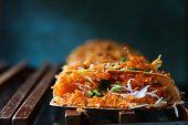 Khanom bueang, kind of Thai sweetmeat