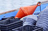 Fishing Net And Buoy