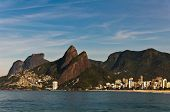 pic of ipanema  - Picturesque view of Rio de Janeiro mountains with urban areas - JPG