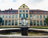 Gdansk - June 20: Abbots Palace Poland Oliva Park on June 20th, 2014 in Gdansk, Poland