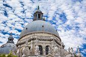 Basilica Santa Maria della Salute, Venice, Italy. Europe.