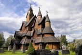 Norway. Heddal Stave Church