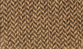 Brown fabric with zigzag lines