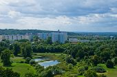 stock photo of perseus  - View from the palace to Babelsberg park - JPG