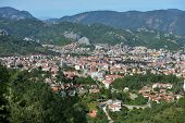 MARMARIS, TURKEY - APRIL 17, 2014: Cityscape of Marmaris. City population increases 10 times during