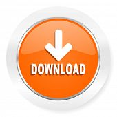 download orange computer icon