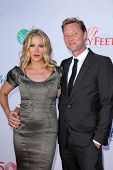LOS ANGELES - JUL 19:  Christina Applegate, Martyn LeNoble at the 4th Annual Celebration of Dance Ga