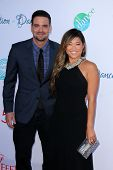 LOS ANGELES - JUL 19:  Mark Salling, Jenna Ushkowitz at the 4th Annual Celebration of Dance Gala at