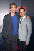 LOS ANGELES - JUL 17:  Matthew Perry, Thomas Lennon at the CBS TCA July 2014 Party at the Pacific De
