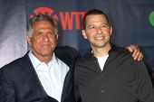 LOS ANGELES - JUL 17:  Les Moonves, Jon Cryer at the CBS TCA July 2014 Party at the Pacific Design C