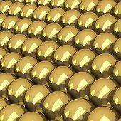Balls of gold.