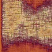 Abstract old background with rough grunge texture. With different color patterns: yellow; purple (violet); brown; orange; beige